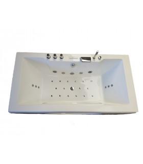 Baignoire rectangulaire acrylique pur 1800x900