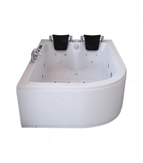Baignoire balneo double 180x120 toutes options