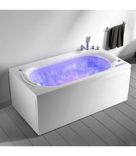 Baignoire balnéo 170 x 90 chute d'eau périphérique new design