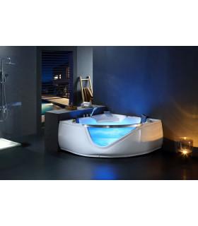 baignoire balneo vitre sourire 39 jets new design