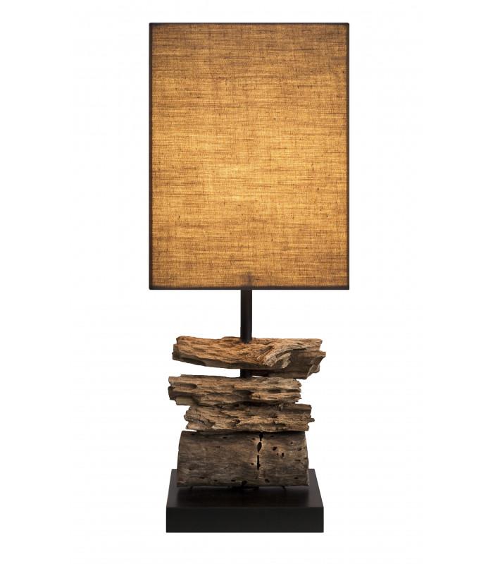 Lampe en bois flotté CANYON