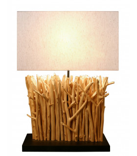 Lampe en bois flotté Mini Vertigo