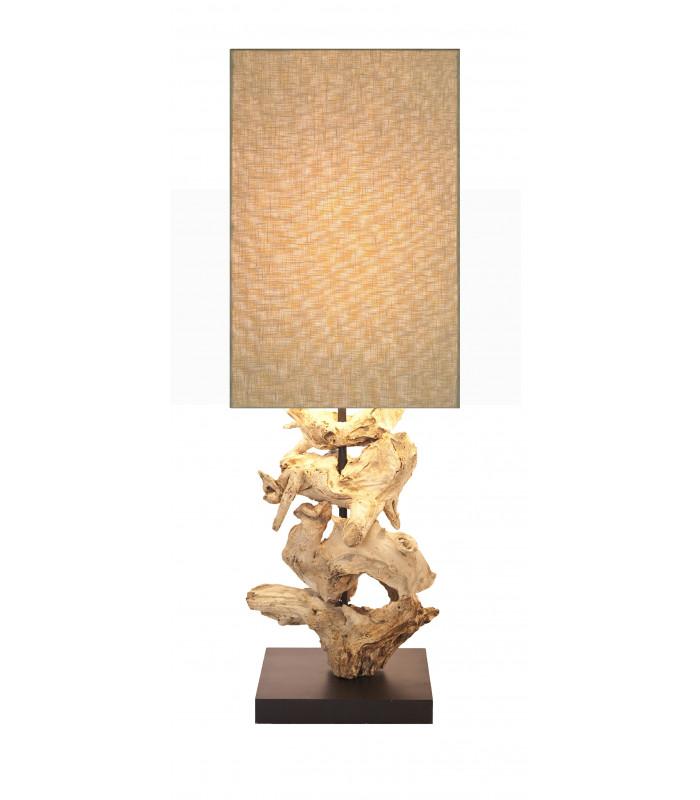 Lampe en bois flotté Pur Ouragan