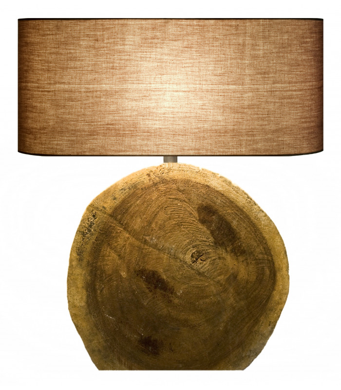 Lampe en bois flotté CIRCULAR