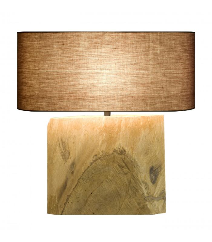 Lampe en bois flotté AMBRE
