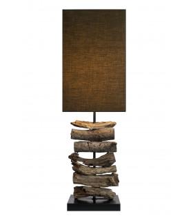 Lampe en bois flotté COPO