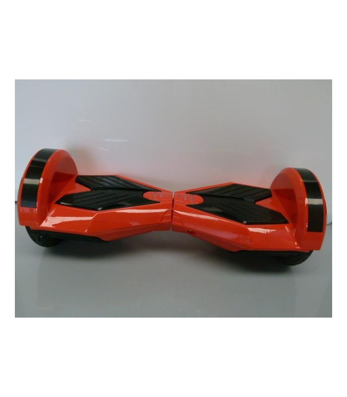 Scooter electrique auto-équilibrage 8 inch orange à patins noirs