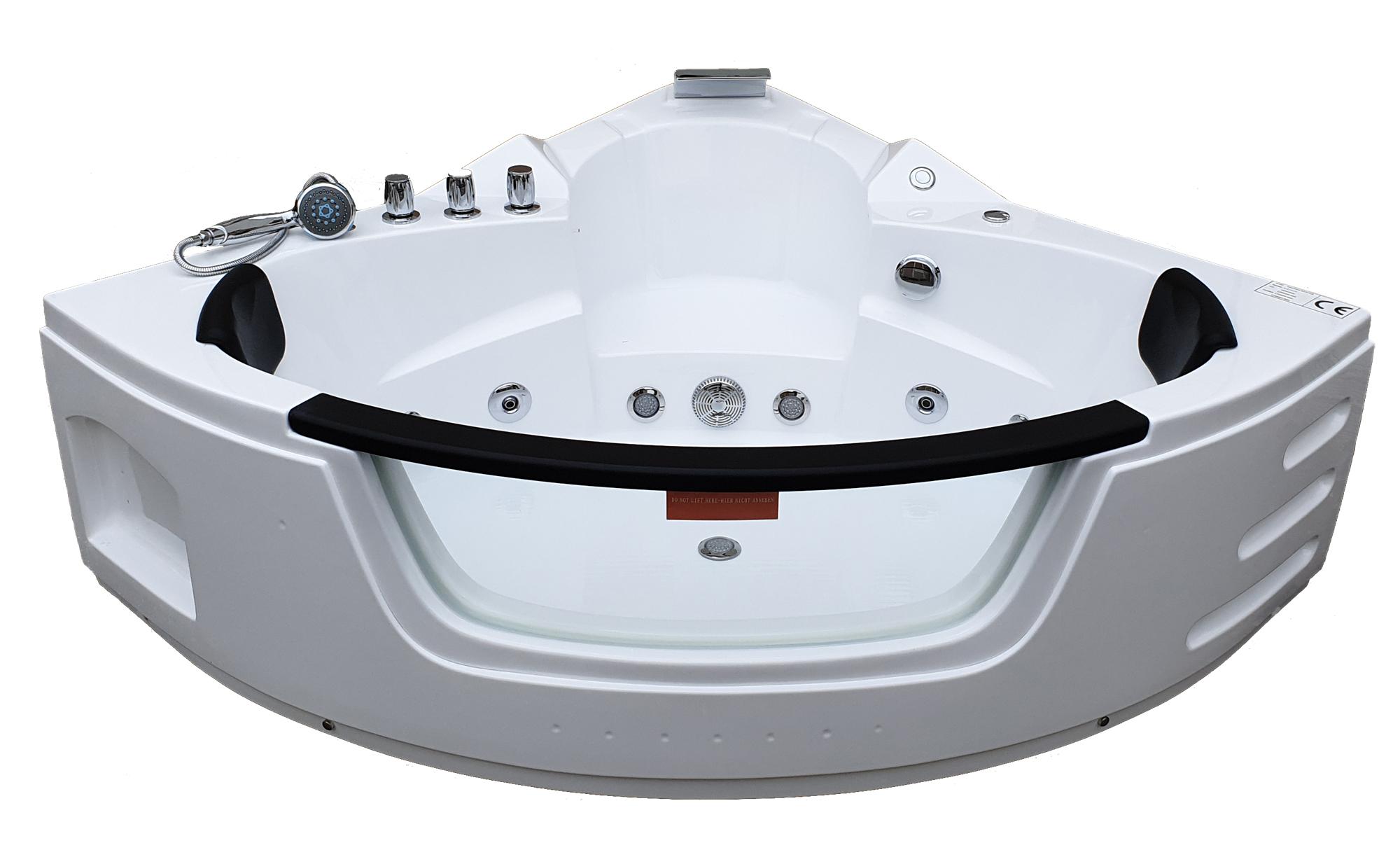 vue de face de la baignoire balnéothérapie BA-610