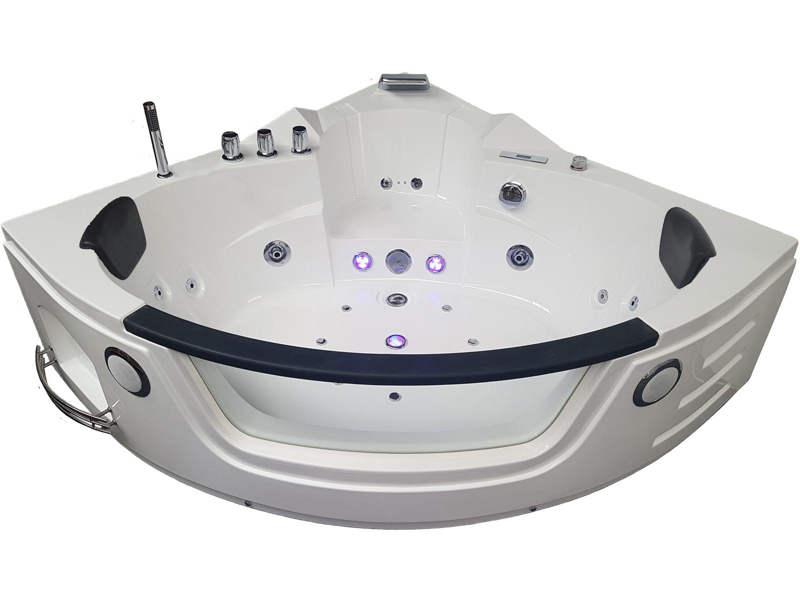 vue de face de la baignoire balnéothérapie BA-613