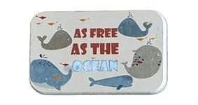 Porte savon diatomite Baleines